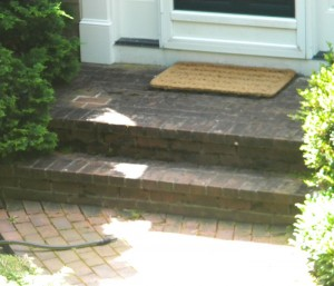 Brick Walkway Cleaning