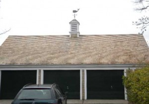 Red Cedar Shingle Roof Cleaning